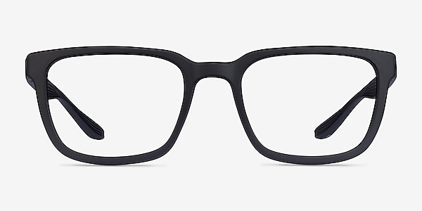 Fast Matte Black Plastic Eyeglass Frames