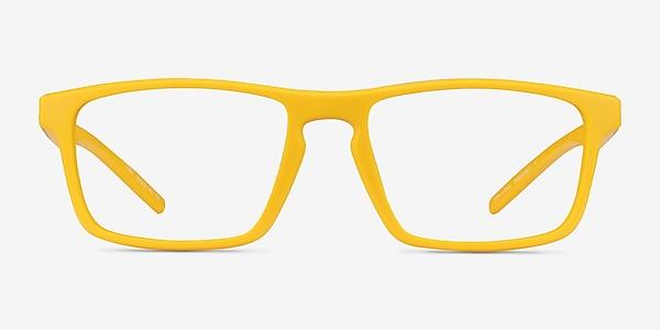 First Jaune Plastique Montures de lunettes de vue