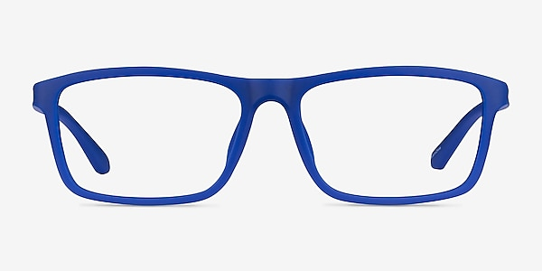 Team Matte Blue Acétate Montures de lunettes de vue