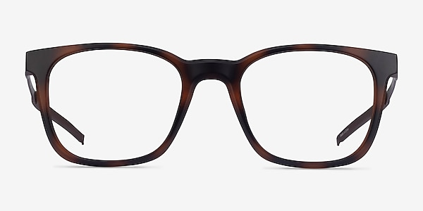 Club Tortoise Metal Eyeglass Frames