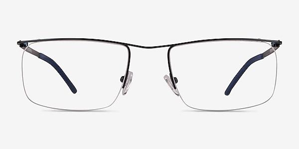 Point Navy Metal Eyeglass Frames
