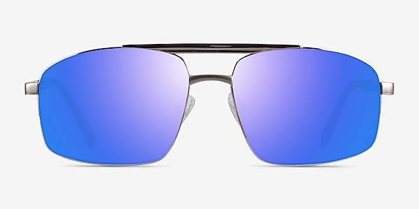 Punt Silver Green Acetate Sunglass Frames