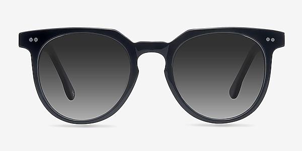 Shadow Jet Black Acetate Sunglass Frames