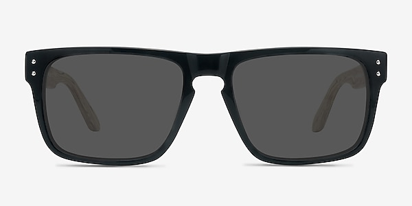 Sergi Black Yellow Acetate Sunglass Frames