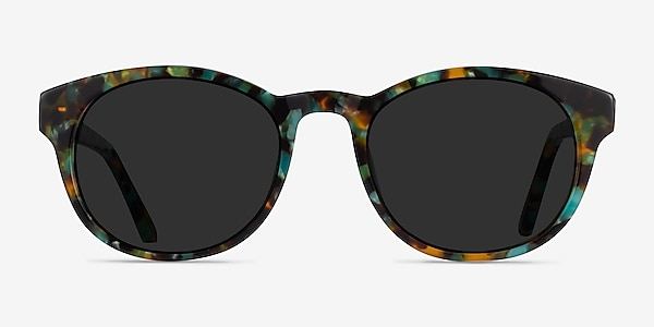 Coppola Green Tortoise Acetate Sunglass Frames