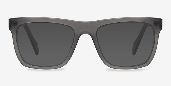 Virtual Matte Gray Acetate Sunglass Frames