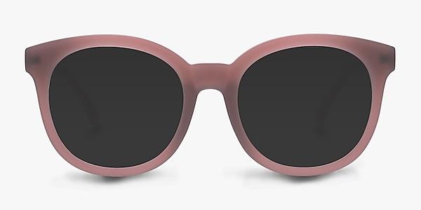 Elena Matte Brown Plastic Sunglass Frames