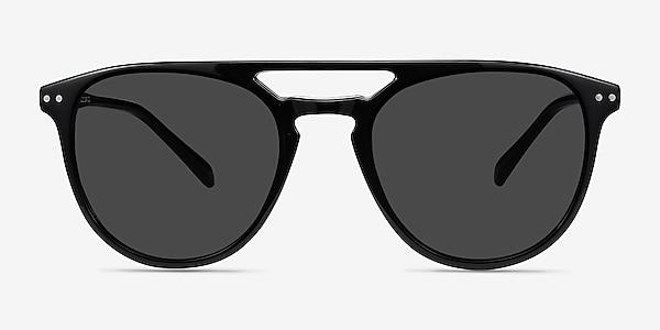Meadow Black Plastic Sunglass Frames