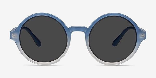 Solstice Blue Clear Plastique Soleil de Lunette de vue