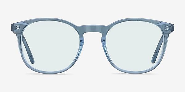 Safari Clear Blue Acetate Sunglass Frames