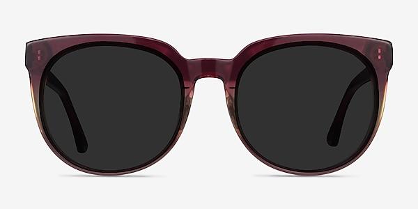 Queen Red Clear Acetate Sunglass Frames