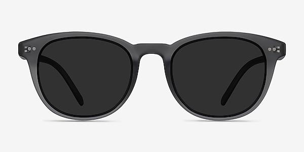 Hidden Gray Plastic Sunglass Frames