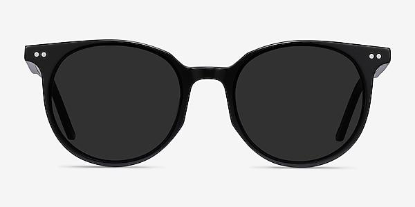 Hideout Black Acetate Sunglass Frames