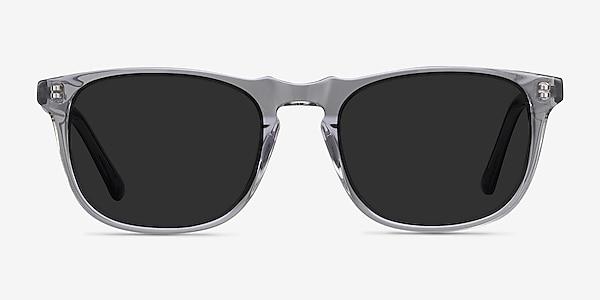 Wave Gray Acetate Sunglass Frames