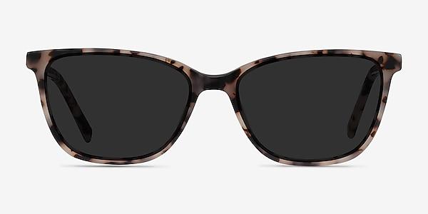 Halle Tortoise Acetate Sunglass Frames