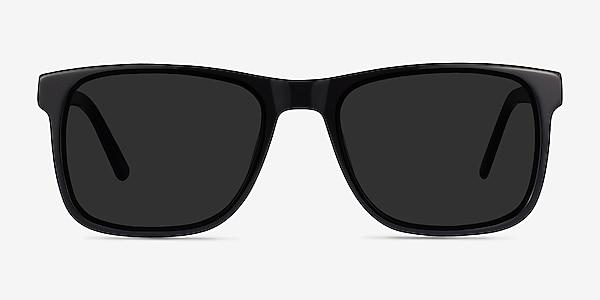 Kudos Black Acetate Sunglass Frames