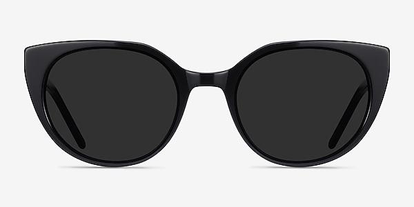Sun Rhyme Black Acetate Sunglass Frames