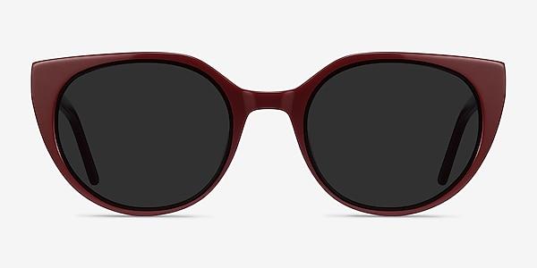 Sun Rhyme Burgundy Acetate Sunglass Frames