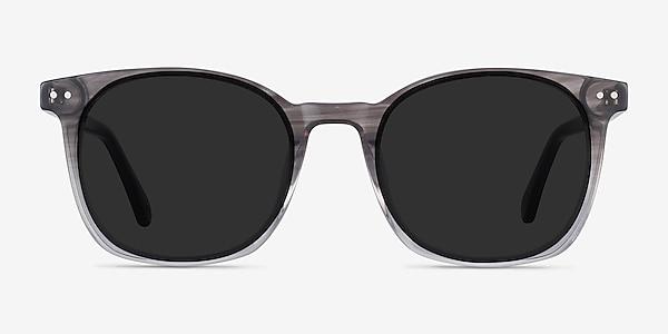 Soleil Striped Acetate Sunglass Frames