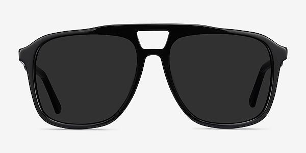 Aster Black Acetate Sunglass Frames