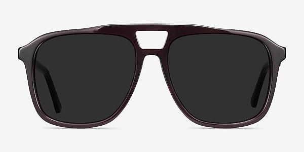 Aster Dark Burgundy Acetate Sunglass Frames