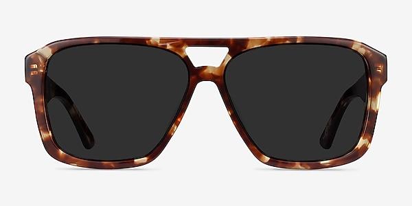 Bauhaus Havana Tortoise Acetate Sunglass Frames