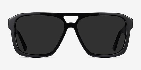 Bauhaus Black Acetate Sunglass Frames
