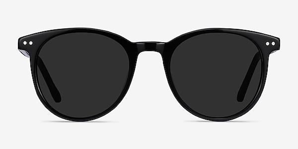Seah Black Acetate Sunglass Frames