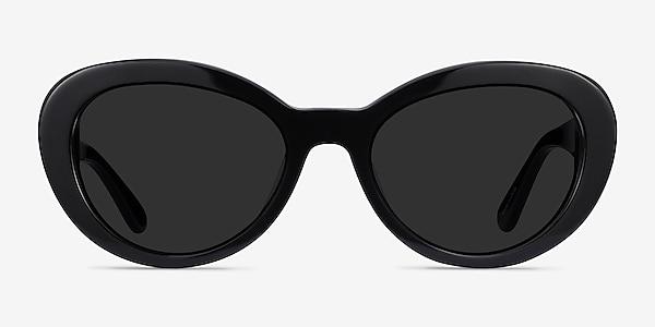 Elle Black Acetate Sunglass Frames