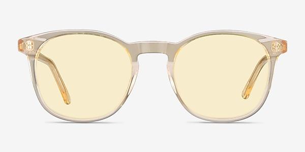 Safari Clear Melon Acetate Sunglass Frames