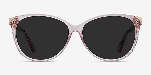 Lima Clear Pink Acetate Sunglass Frames