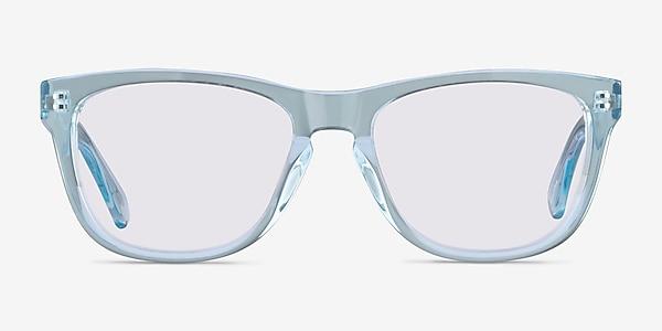 Malibu Clear Blue Acetate Sunglass Frames