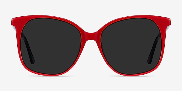 Celebration Red & Navy Acetate Sunglass Frames