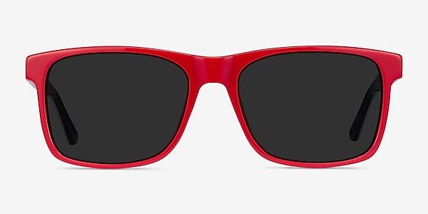 Proud Red & Navy Acetate Sunglass Frames
