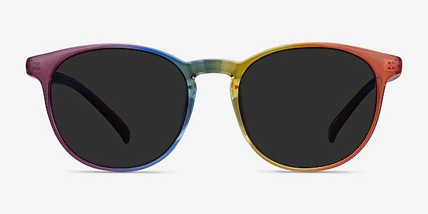 Power Rainbow Plastic Sunglass Frames