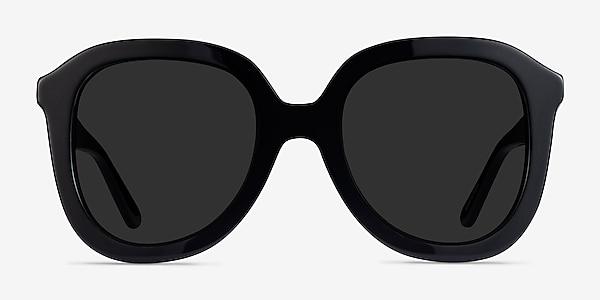 Wendy Black Acetate Sunglass Frames