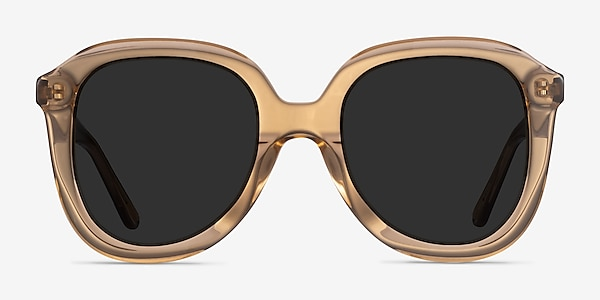 Wendy Clear Brown Acetate Sunglass Frames