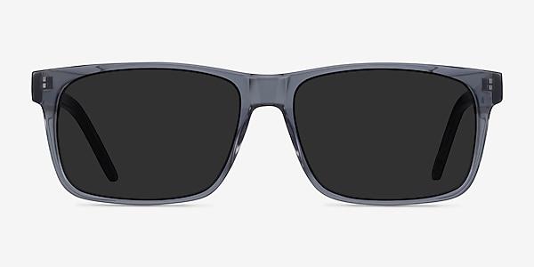 Sun Sydney Clear Gray Acetate Sunglass Frames
