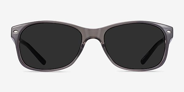 Jump Gray Plastic Sunglass Frames