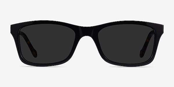 Tennis Black Tortoise Acetate Sunglass Frames