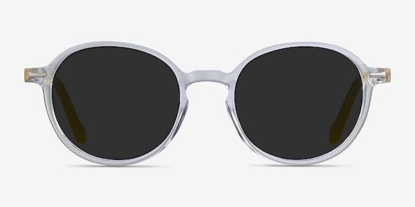 Ice Cream Clear Yellow Acetate Sunglass Frames