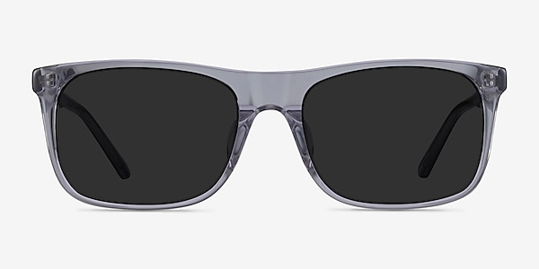 Silvio Clear Gray Acetate Sunglass Frames