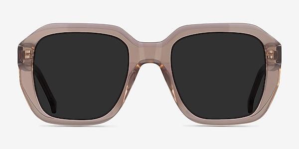 Azalea Clear Brown Acetate Sunglass Frames