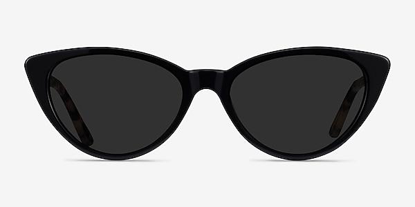 Jolie Black Acetate Sunglass Frames