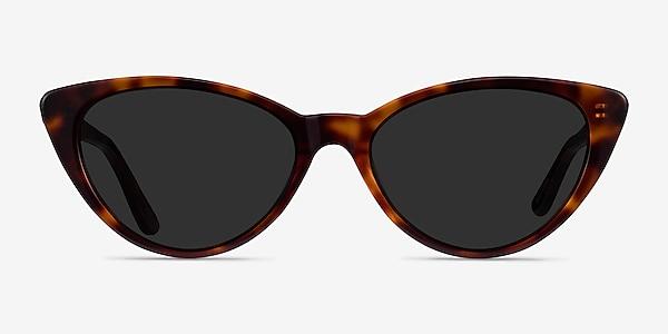 Jolie Brown Tortoise Acetate Sunglass Frames