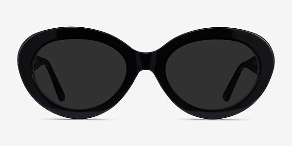 Alexandra Black Zebra Acetate Sunglass Frames