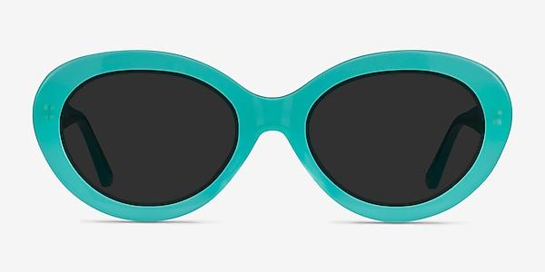 Alexandra Teal Acetate Sunglass Frames