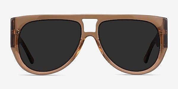 Southwest Clear Brown Acetate Sunglass Frames