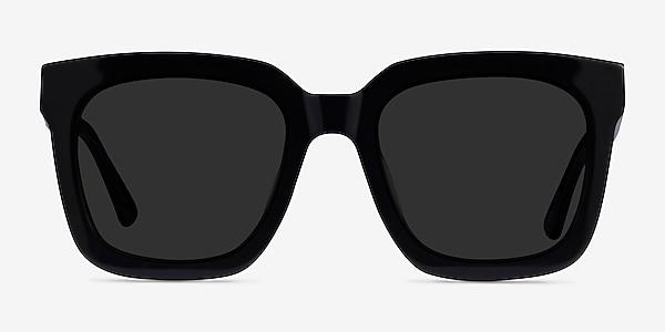 Los Angeles Black Acetate Sunglass Frames