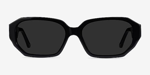 Claudel Black Acetate Sunglass Frames